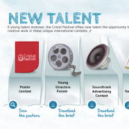 Cristal Festival International New Talent Competitions – call for entries