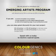 Student Discount Program at Colourgenics