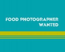 Food/Restaurant Showcase Photographer Wanted