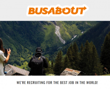 @Busabout is recruiting a brand ambassador and a video producer