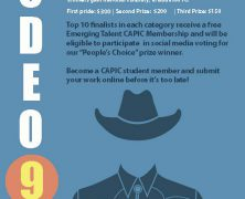 CAPIC's Rodeo 9 Contest is looking for Submissions! | Mar 31