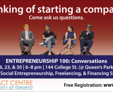 Live event for students curious about entrepreneurship | Mar 16, 23 & 30