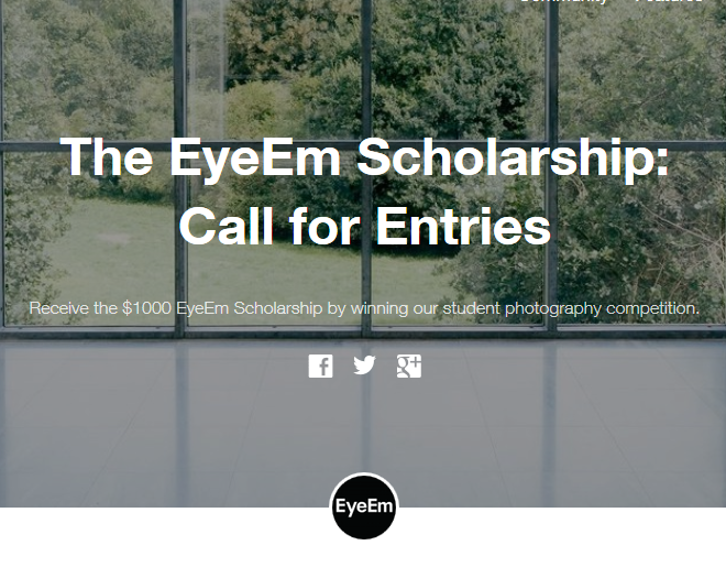 EyeEm Call for Entries image