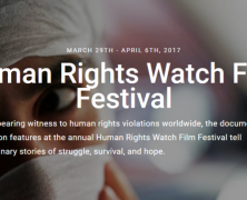 Human Rights Watch | Film Festival | Mar 29 – Apr 6