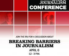 The RRJ presents: Breaking Barriers conference | Apr 6