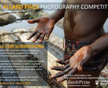 @AllardPrize Photography Competition- Call for Submissions | May 1