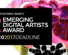 The Emerging Digital Artists Award is accepting applications | @edaa_eqb | July 10