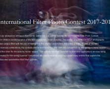 Call for Entries | International Filter Photo Contest 17/18 | Sep 30
