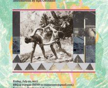 Screening: A Gathering of Crystals   R. Bruce Elder & Ajla Odobasic   July 21
