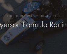 Ryerson Formula Racing is hiring | Junior Graphics Lead | Apply online