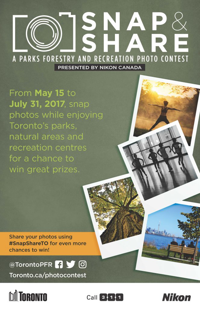 Snap & Share Photo Contest poster