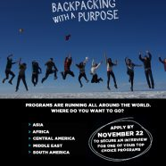 Backpacking with a purpose | learning programs with Operation Groundswell | Nov 22