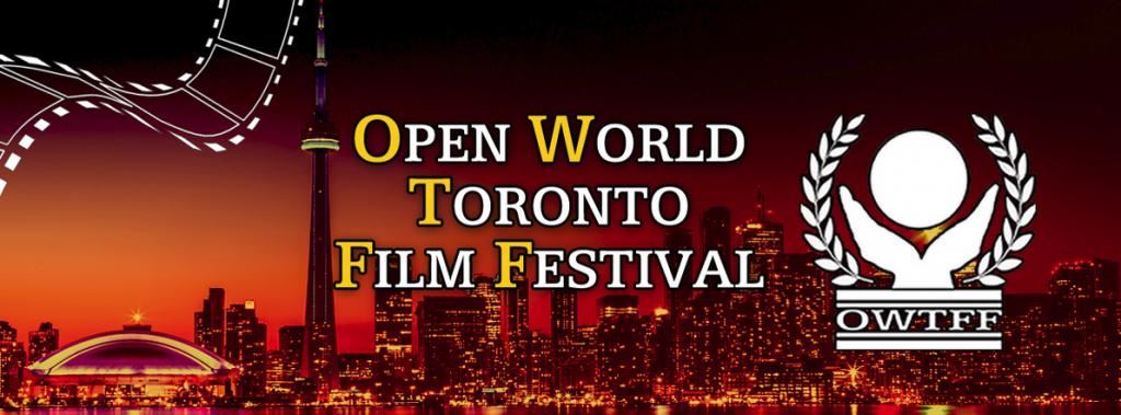 Open World Toronto Film Festival banner