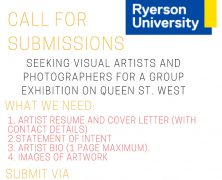 Call for Submissions @TwistGallery | Seeking Visual Artists & Photogs for Group Exhibition