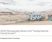 Now Open for Entries | @ZEISSLenses #Photography Award 2018 | Feb 6 2018