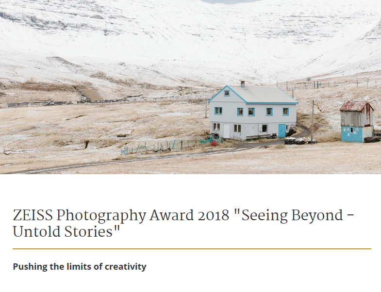 Zeiss Photography Award 2018 image