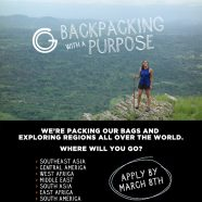 Service learning programs abroad   Backpacking with a Purpose   Mar 8