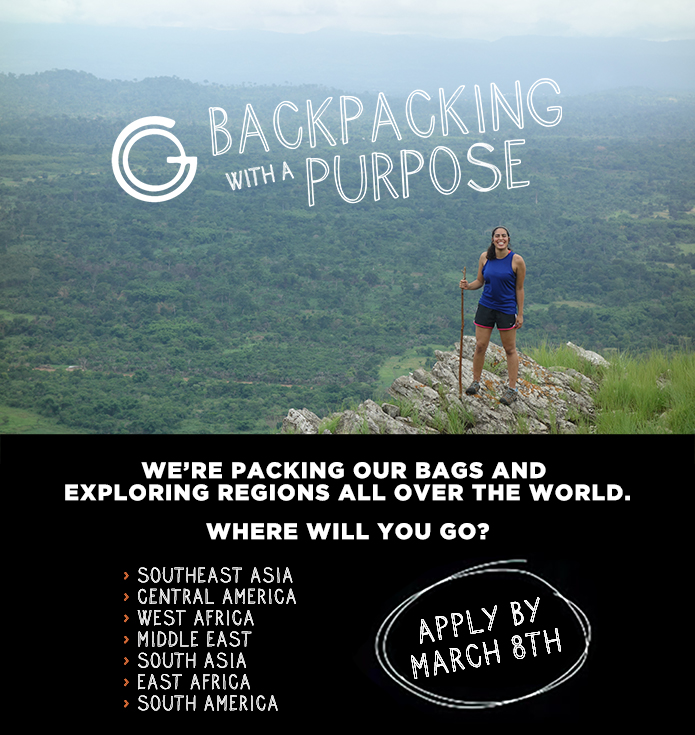 Backpacking With A Purpose image