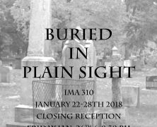 310 Gallery : Brileigh Hardcastle | Buried  In Plain Sight | Jan 22 – Jan 28