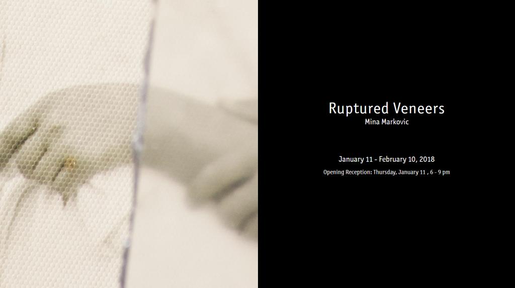 Ruptured Veneers by Mina Markovic - invite image