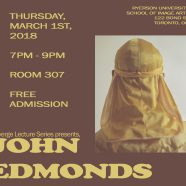 Converge Lecture Series Presents John Edmonds | Mar 1 | Free Admission