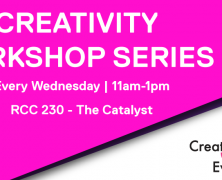 Creativity Workshop Series
