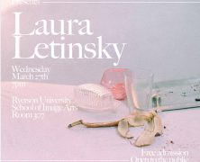 Converge Lecture Series: Laura Letinsky | March 27 @ 7pm | IMA 307