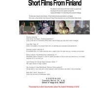 Nordic Nights | Short Films from Finland | March 26 @ 6:30 PM | IMA-307