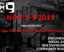 Student Submissions for the Guelph Film Festival