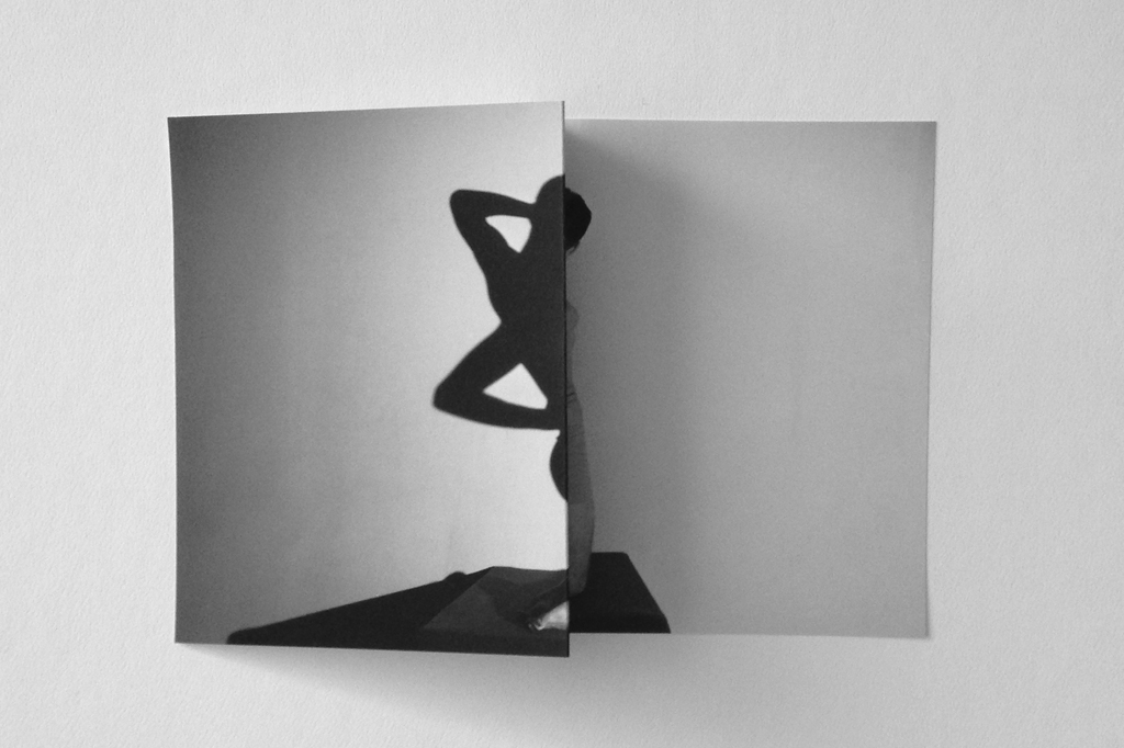 Eric Watters, Body form 1, 2014, Manipulated inkjet print
