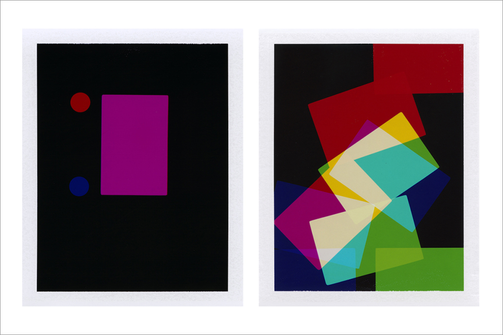 Matt Waples, from Colour Studies, 2014, Unique dye diffusion transfer prints